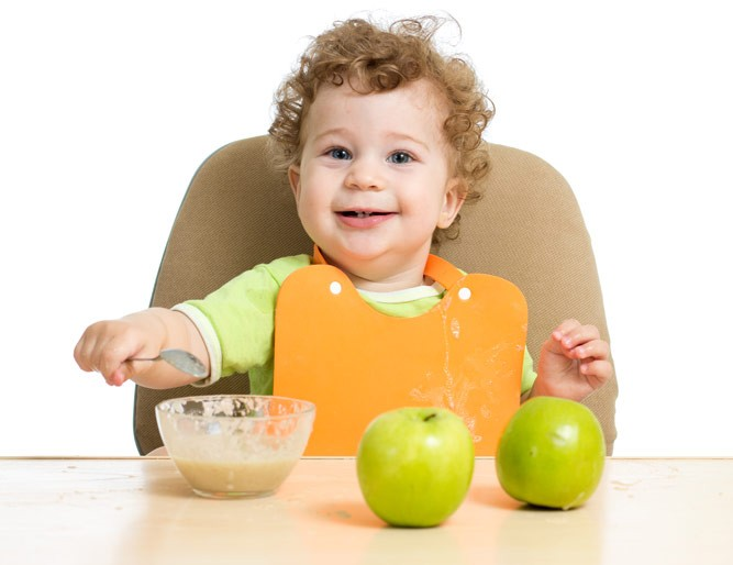 яблочки для ребенка
