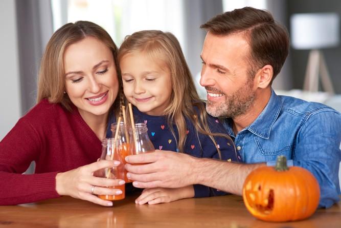 Праздник с соком из тыквы