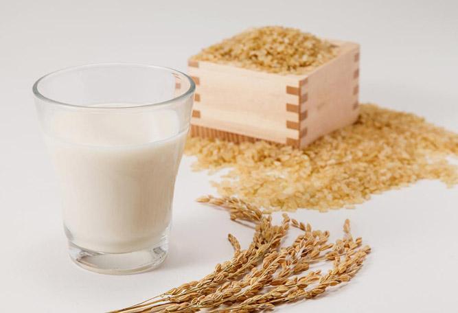 молоко из бурого риса
