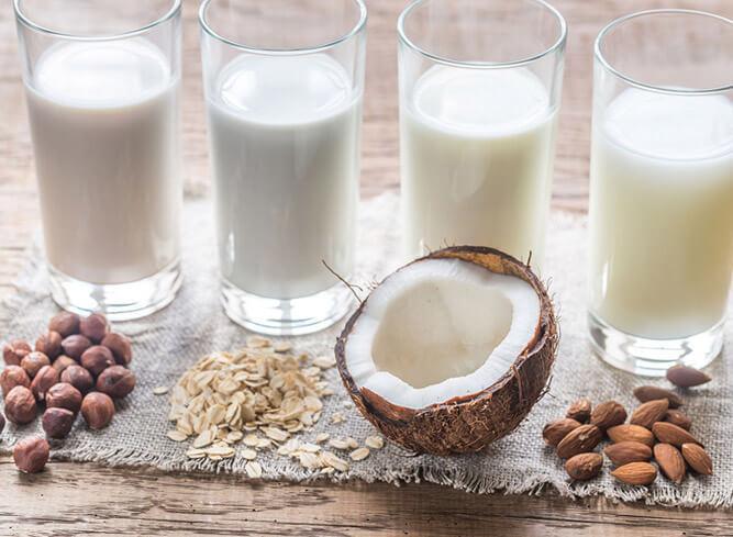 растительные альтернативы коровьего молока