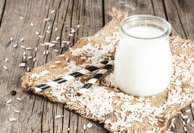 органическое рисовое молоко