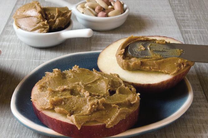 паста из арахиса домашнего приготовления