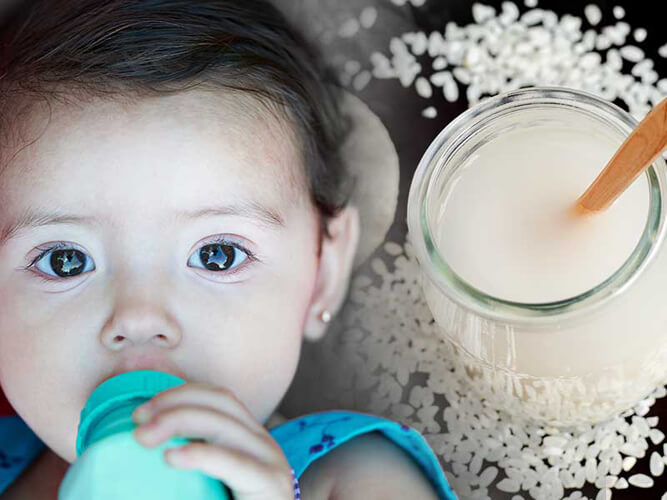 рисовый отвар малышу