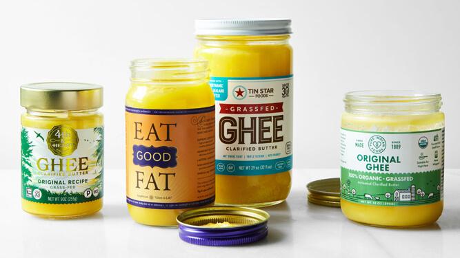 разные марки масла гхи