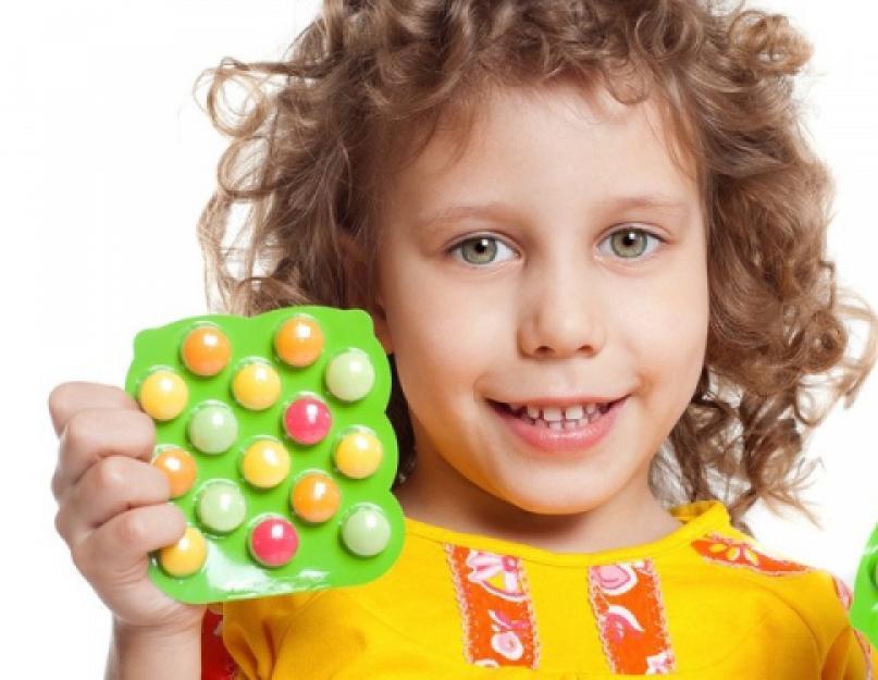 Витамины для памяти детей