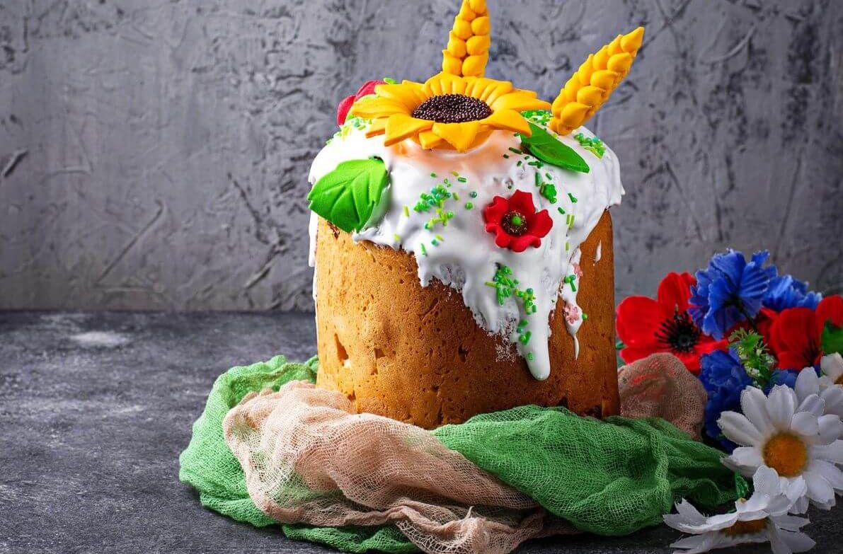 рецепт пасхального кулича детям