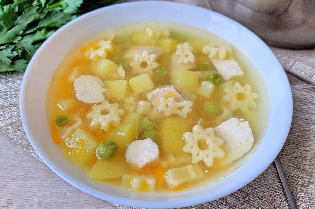куриный суп детям