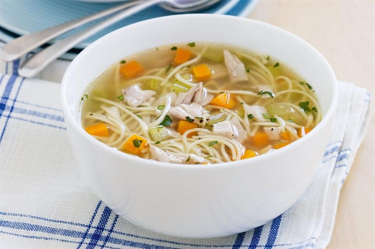 куриный суп из мультиварки