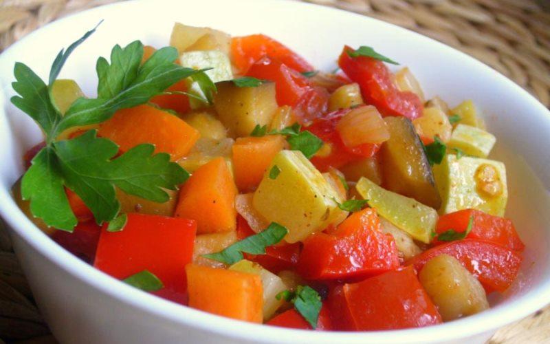 овощное рагу для детей