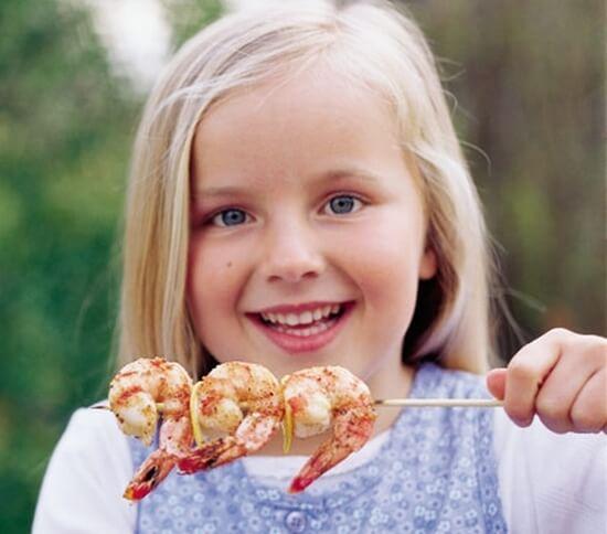 морепродукты детям